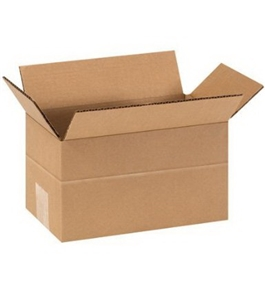 "9"" x 5"" x 5"" Multi-Depth Corrugated Boxes (Bundle of 25)"