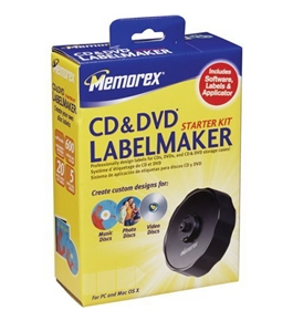 Memorex CD LABELMAKER STARTER KIT (32023968)[CD-ROM] Windows 98 / Windows XP Home Edition / Mac OS