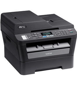 brother mfc 7460dn all in one b w laser printer w networking duplex printing. Black Bedroom Furniture Sets. Home Design Ideas