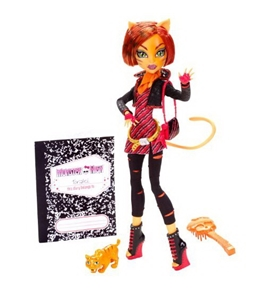 Monster High Toralei Stripe Doll with Pet Sweet Fang