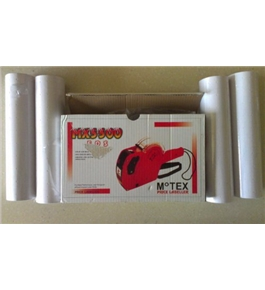 Motex Pricing Label Gun Mx-5500/ink Roll/10 Rolls Labels - Color May Vary