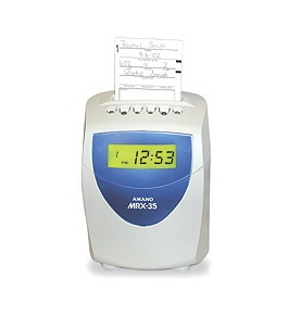 Amano MRX-35 Calculating Time Recorder