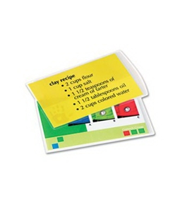 NEW - Clear Laminating Pouches, 3 mil, 9 x 11 1/2, 100/Pack - 52454