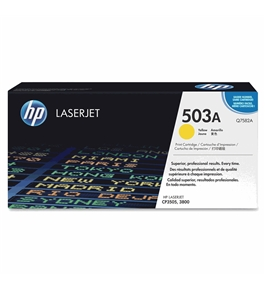 New-HP Q7582A - Q7582A Toner, 6000 Page-Yield, Yellow - HEWQ7582A