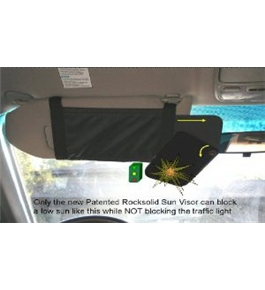 New Invention Safety Sun Shade Visor for Car