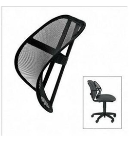 NEW Mesh Backrest Black (Office Products)