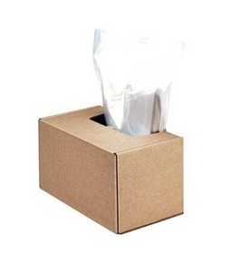 New - Shredder Waste Bags by Fellowes 3604101