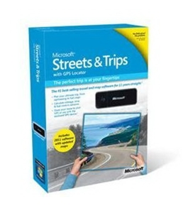NEW Streets & Trips 2011 GPS Mini (Software)