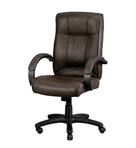 ODYSSEY BROWN LE9406BRN LEATHER EXECUTIVE CHAIR
