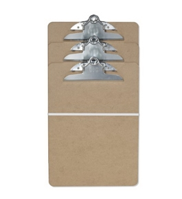 Officemate Clipboard, Letter Size, 3 pack (83130)