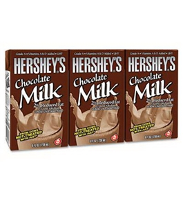 Office Snax OFX30703 Hershey's 2% Chocolate Milk 8 oz Container 3 Pack