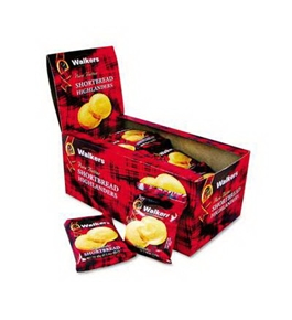Office Snax OFXW176 Walkers Walker's Shortbread Highlander Cookies 1.4 oz