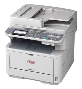 Oki Data MB MB461 Wireless Monochrome Printer with Scanner and Copier