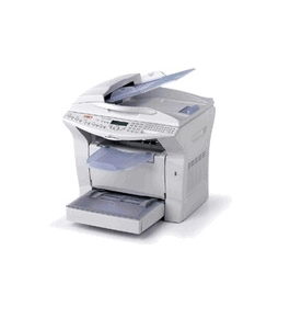 Okidata B4545 MFP Laser Printer, Fax, Copier & Scanner with Network Card
