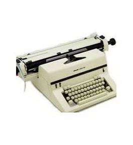 "Olivetti Linea 98 Refurbished Office Manual Typewriter 19.2"" Carriage"