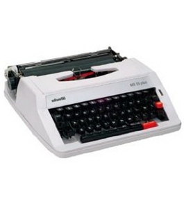 Olivetti MS25SP Model MS 25 Premier Plus Portable English/Spanish Manual Typewriter