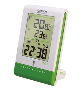 Oregon Scientific +ECO Solar Weather Clock