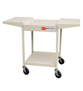 Overhead Projector Cart - 22 1/2 x 19 3/4 x 39 inches - Black
