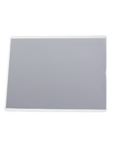 Oxford 65049 Utili-jacs clear vinyl envelopes, top load, 4 x 9 insert size