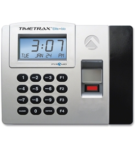PYRAMID TIME SYSTEMS TTELITEEK BIOMETRIC TIME CLOCK SYST ENET