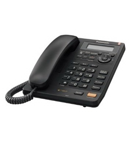 Panasonic KX-TS620B Integrated Corded Phone with All-Digital Answering System, Black (KXTS620B)