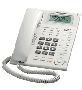 Panasonic KX-TS880W Integrated Corded Telephone