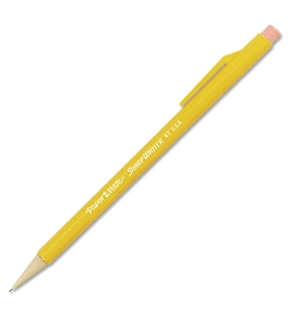 Paper Mate Sharpwriter 0.7mm Mechanical Pencils, 12 Yellow Pencils (3030131)