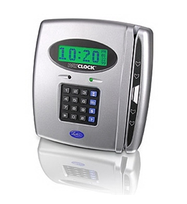 Lathem PayClock PRO PC400 Time Clock 100 Employees