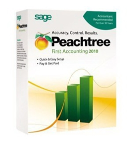 "Peachtree First Accounting ""10 [CD-ROM] Windows"