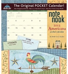 Perfect Timing - Avalanche, 2013 Americana Note Nook Calendar (7007094)