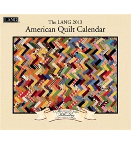 Perfect Timing - Lang 2013 American Quilt Wall Calendar (1001551)
