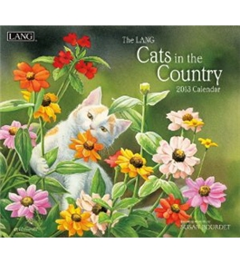 Perfect Timing - Lang 2013 Cats In The Country Wall Calendar (1001559)