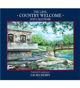 Perfect Timing - Lang 2013 Country Welcome Wall Calendar (1001567)