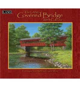 Perfect Timing - Lang 2013 Covered Bridge Wall Calendar (1001568)