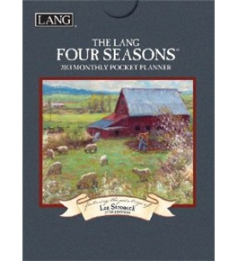 Perfect Timing - Lang 2013 Four Seasons Monthly Pocket Planner (1003110)