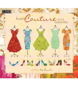 Perfect Timing - Lang 2013 Haute Couture Wall Calendar (1001620)