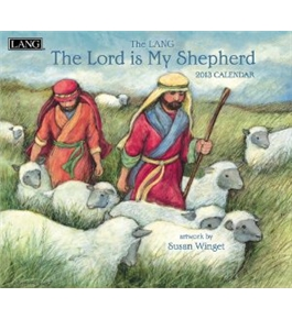 Perfect Timing - Lang 2013 The Lord Is My Shepherd Wall Calendar (1001606)