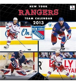 Perfect Timing - Turner 12 x 12-Inch 2013 New York Rangers Wall Calendar (8011318)