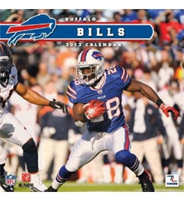 Perfect Timing - Turner 12 X 12 Inches 2013 Buffalo Bills Wall Calendar (8011271)