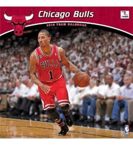 Perfect Timing - Turner 12 X 12 Inches 2013 Chicago Bulls Wall Calendar (8011241)