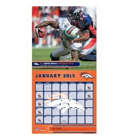 Perfect Timing - Turner 12 X 12 Inches 2013 Denver Broncos Wall Calendar (8011277)