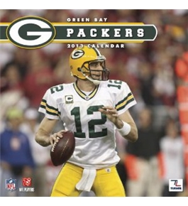 Perfect Timing - Turner 12 X 12 Inches 2013 Green Bay Packers Wall Calendar (8011279)