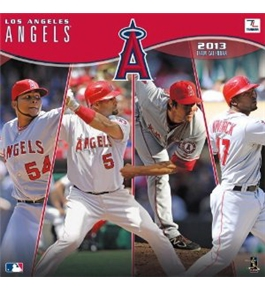 Perfect Timing - Turner 12 X 12 Inches 2013 Los Angeles Angels Wall Calendar (8011220)