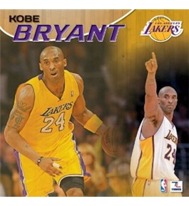 Perfect Timing - Turner 12 X 12 Inches 2013 Los Angeles Lakers Kobe Bryant Wall Calendar (8011345)