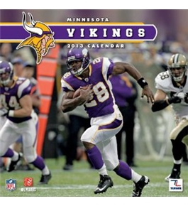 Perfect Timing - Turner 12 X 12 Inches 2013 Minnesota Vikings Wall Calendar (8011285)
