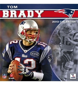 Perfect Timing - Turner 12 X 12 Inches 2013 New England Patriots Tom Brady Wall Calendar (8011160)