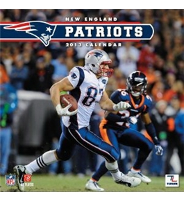 Perfect Timing - Turner 12 X 12 Inches 2013 New England Patriots Wall Calendar (8011286)