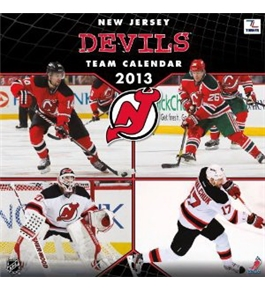 Perfect Timing - Turner 12 X 12 Inches 2013 New Jersey Devils Wall Calendar (8011316)