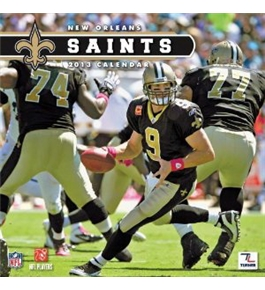 Perfect Timing - Turner 12 X 12 Inches 2013 New Orleans Saints Wall Calendar (8011287)