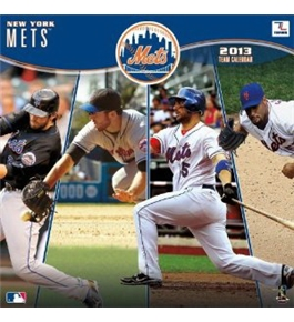 Perfect Timing - Turner 12 X 12 Inches 2013 New York Mets Wall Calendar (8011225)